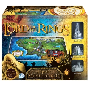 The Lord of the Rings: Middle Earth - puzzle 4D Śródziemie