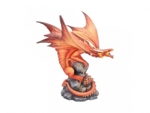 Ognisty Smok-Fire Dragon-Age of Dragons Anne Stokes-piękna figurka
