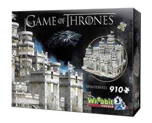Game of Thrones 3D Puzzle Winterfell 910 el.