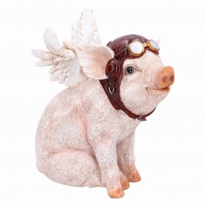 When Pigs Fly - figurka świnki pilota