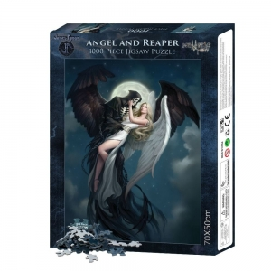 Angel and the Reaper - puzzle 1000 el. James Ryman WYPRZEDAŻ